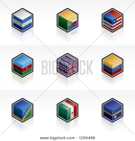 Flag Icons Set - Design Elements 56M