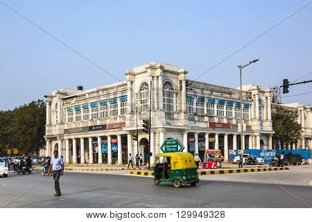People At Connaught Place