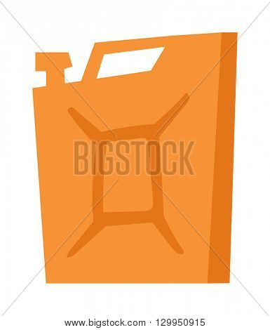 Jerry can vector illustration.