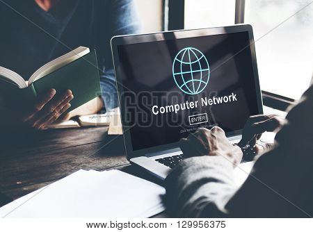 Computer Network Connection Internet Online Technology Concept