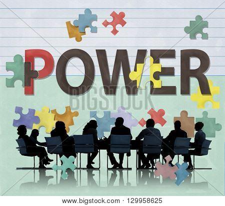 Power Ability Capability Development Energy Concept