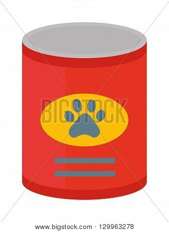 Dog food vector illustration. and dog food animal snack canine nutrition vector illustration. Dog food nutrition puppy dish and tasty dog food. Dog food healthy care dinner treat animal feed.