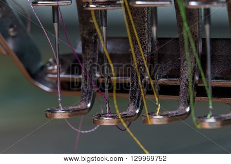 Embroidery machine needle in Textile Industry at Garment Manufacturers, Embroidery needle, Needle with thread