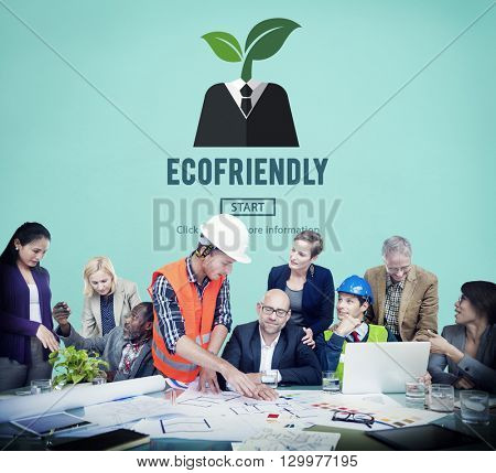 Eco-friendly Ecological Environmental Growing Concept