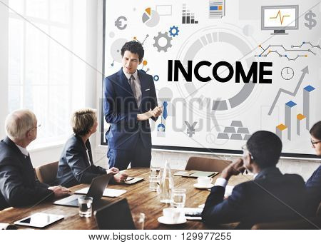 income Assets Banking Capital Finance Money Concept