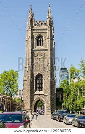 Hart House Tower At University Of Toronto