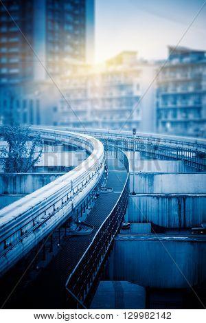 monorail track,chongqing