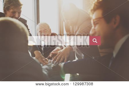Business People Discussion Planning Analysis Concept