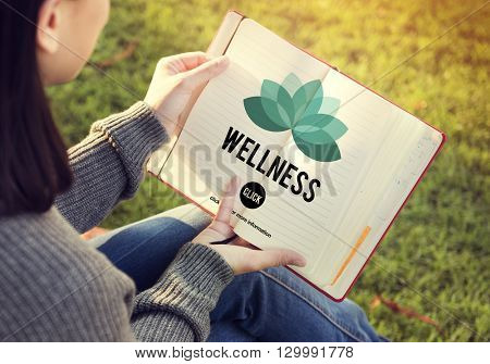 Wellness Relax Wellbeing Nature Balance Exercise Concept