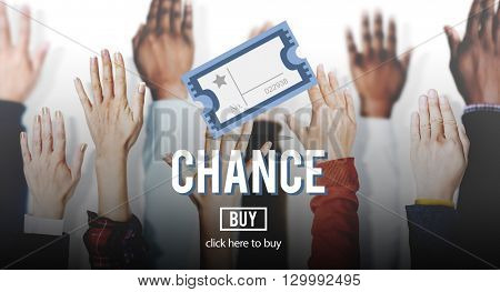 Chance Opportunity Option Decision Intersection Lotto Concept