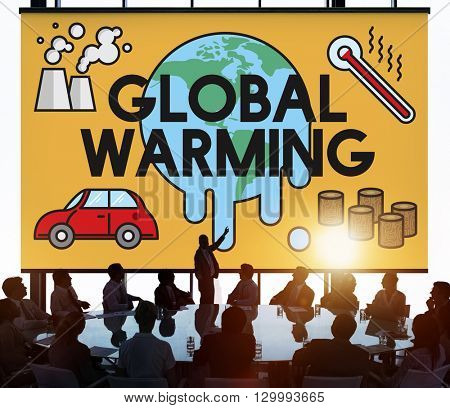 Global Warming Climate Environmental Industry Concept