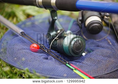 Fishing rods and tackle for fishing. Fishing Wheels