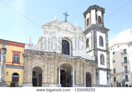 Saint Antony ad Saint Francis church in Cava de Tirreni Salerno Italy built in 1542