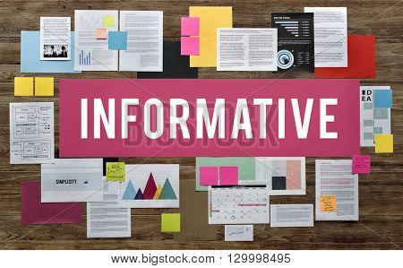 Informative Information Diagram Idea Internet Concept