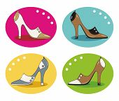 image of high heel shoes  - high - JPG