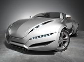 Sports car. My own car design. Not associated with any brand. poster