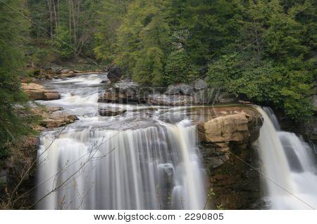 A Upper View Of Blackwater Falls