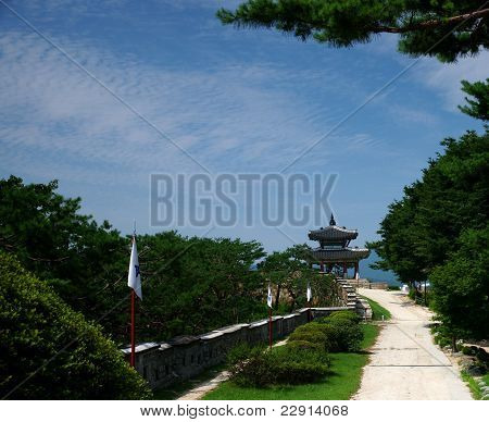 Traditional Korean Architecture, Hwaseong Fortress, Suwon, South Korea