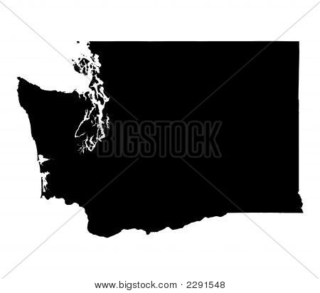 Mapa de Washington, EUA