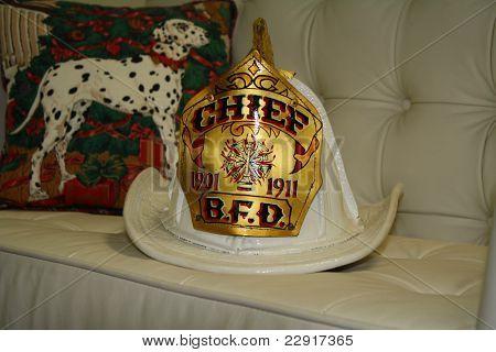 Fire Chief's Helmet