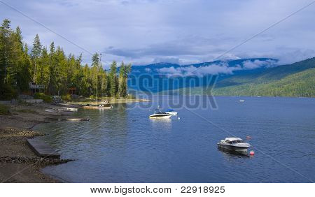 Lake Front Property At Shuswap Lake