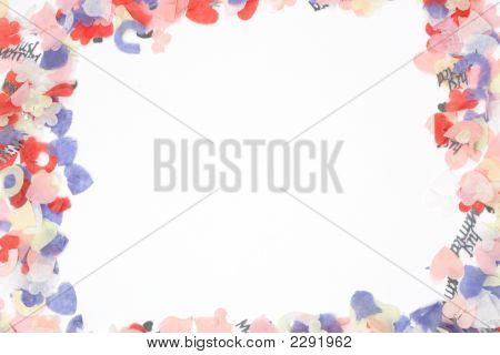 Confetti Frame
