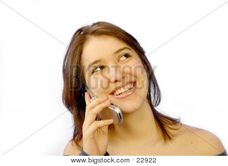 Girl On The Phone 8