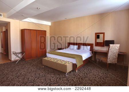 Interior Of Hotel Bedroom