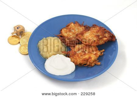 Potato Latkes & Dreidel