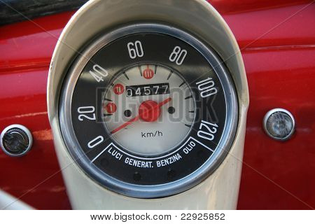 Oldtimer small dashboard