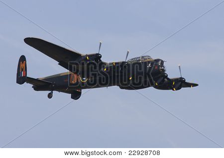 Lancaster Bomber, Battle of Britain Flight