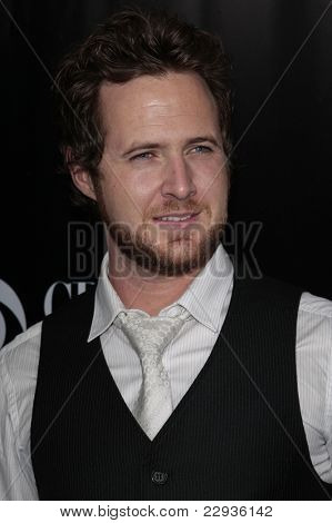 LOS ANGELES - NOV 1: A J Buckley at the CSI NY 100th episode party at the Edison Downtown, Los Angeles, California on November 1, 2008