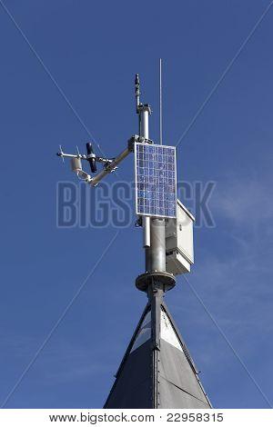 Small Solar Powered Hitech Meteo Station