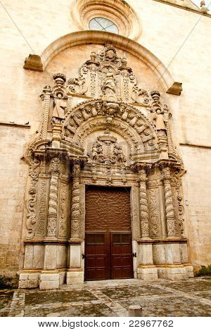 church of Montesion Monti Sion in Majorca at Palma de Mallorca Spain