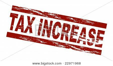 Stamp - Tax increase