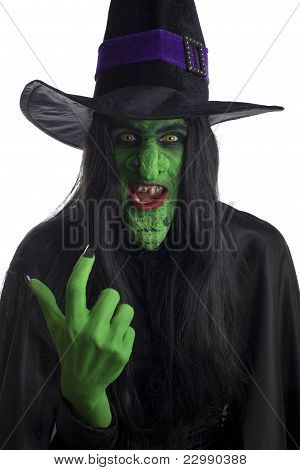 Witch beckoning you over.