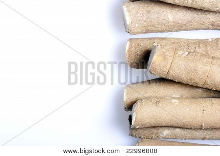 Miswak or Siwak on a White Background