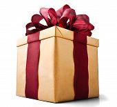 Present Box Seen From Bellow