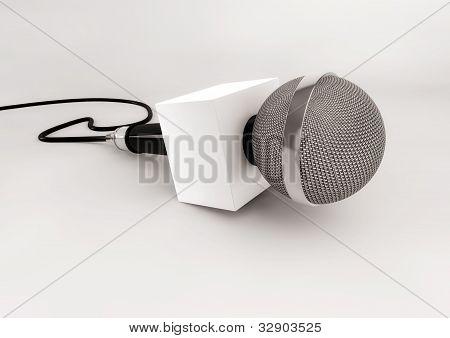 News Microphone