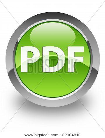 Icono brillante PDF