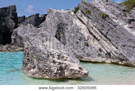 Boulders At Horseshoe Bay, Bermuda