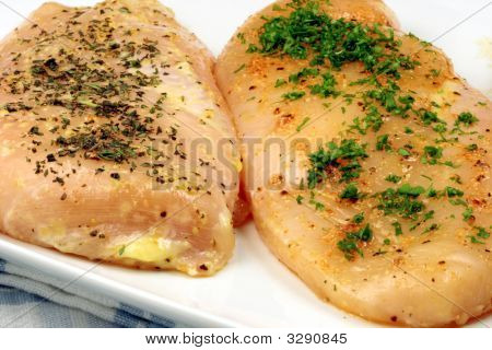 Seasoned Organic  Chicken Breast
