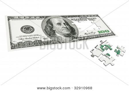 Dollars As Puzzle