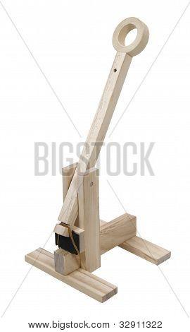 Wooden Trebuchet