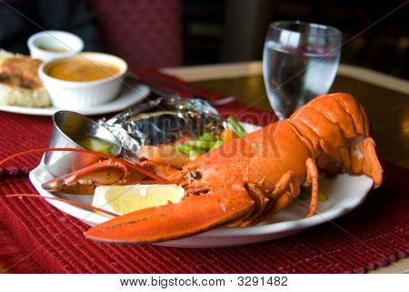 Restaurant Lobster Dinner