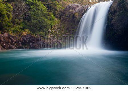 Tawhai Falls in Tongariro NP, New Zealand