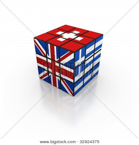 Flag cube