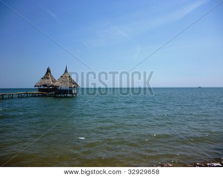 beachside gazebo