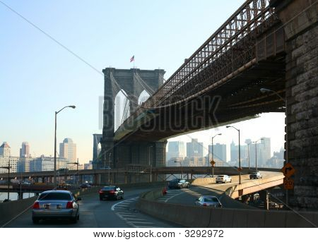Brooklyn Bridge And Fdr Drive