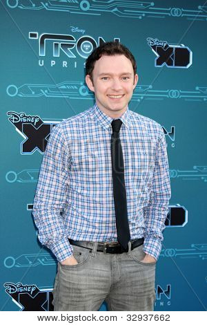 LOS ANGELES - MAY 12:  Nate Corddry arrives at the Disney XD's
